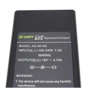 Samsung 90W / 19V 4.74A / 5.5mm-3.0mm Laturi