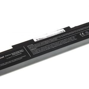 Green Cell Akku: Samsung malleille: R519 R522 R530 R540 R580 (Musta) / 11,1V 4400mAh
