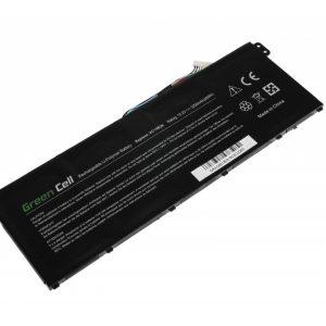 Green Cell AC14B3K AC14B8K akku: Aspire 5 A515 A517 E15 ES1-512 ES1-533 R5-571T V3-372 Nitro 5 AN515-51 / 15.2V 3000mAh