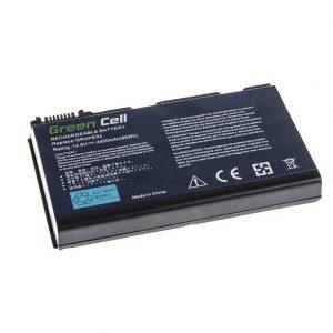 Green Cell GRAPE32 TM00741 TM00751 akku: Acer TravelMate 5220 5520 5720 7520 7720 Extended 5100 5220 5620 5630 / 14.8V 4400mAh