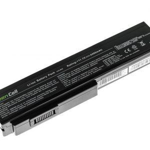 Green Cell A32-M50 A32-N61 akku: Asus G50 G51 G60 M50 M50V N53 N53SV N61 N61VG N61JV / 10.8V 4400mAh