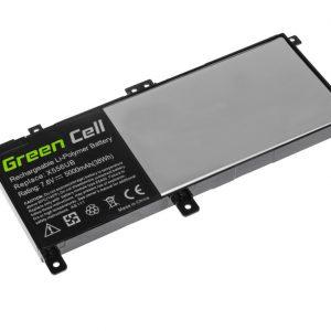 Green Cell C21N1509 akku: X556U X556UA X556UB X556UF X556UJ X556UQ X556UR X556UV / 7.6V 4100mAh