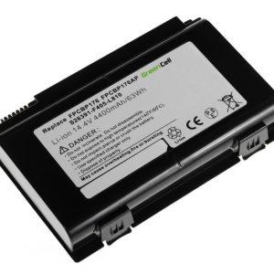 Green Cell FPCBP176 akku: Fujitsu LifeBook E8410 E8420 E780 N7010 AH550 NH570 / 14.4V 4400mAh