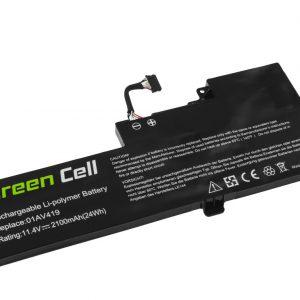 Green Cell 01AV419 01AV420 01AV421 01AV489 akku: Lenovo ThinkPad T470 T480 A475 A485 / 11.4V 2100mAh