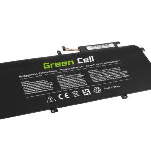 Green Cell C31N1411 akku: Asus ZenBook UX305C UX305CA UX305F UX305FA / 11.4V 3947mAh