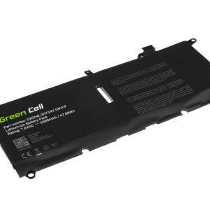 Green Cell DXGH8 akku: Dell XPS 13 9370 9380, Dell Inspiron 13 3301 5390 7390, Dell Vostro 13 5390 / 7.6V 6300mAh