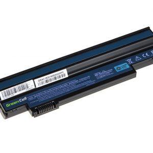 Green Cell UM09G71 UM09H31 akku: Acer Aspire One 533 532H 533H eMachines EM350 NAV51 Packard Bell EasyNote S2 / 11.1V 4400mAh