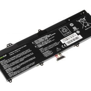 Green Cell C21-X202 akku: Asus VivoBook F202E Q200E S200E X202E / 7.4V 4500mAh