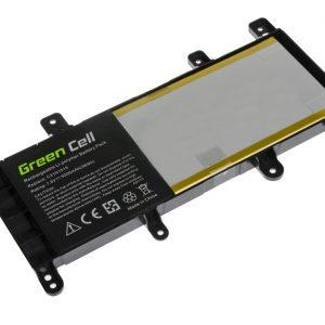 Green Cell C21N1515 akku: Asus X756U X756UA X756UQ X756UV X756UX / 7.6V 5000mAh