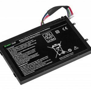 Green Cell PT6V8 akku: Dell Alienware M11x R1 R2 R3 M14x R1 R2 R3 / 14.8V 4000mAh