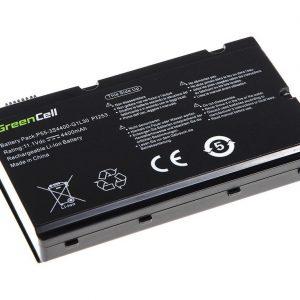 Green Cell 3S4400-S1S5-05 akku: Fujitsu-Siemens AMILO Pi2530 Pi2550 Pi3540 Xi2550 / 11.1V 4400mAh