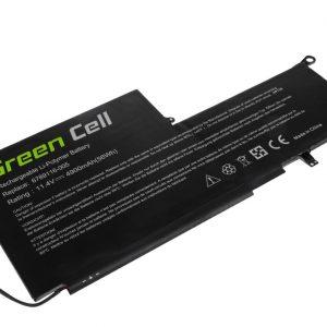 Green Cell PK03XL akku: HP Envy x360 13-Y HP Spectre Pro x360 G1 G2 HP Spectre x360 13-4000 / 11.4V 4900mAh
