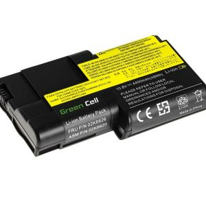 Green Cell 02K6626 02K6620 akku: Lenovo ThinkPad T20 T21 T22 T23 / 10.8V 4400mAh