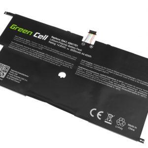 Green Cell 45N1700 45N1701 45N1702 45N1703 akku: Lenovo ThinkPad X1 Carbon 2nd Gen / 14.8V 3000mAh