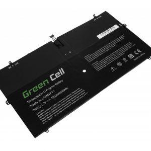 Green Cell L13M4P71 L14S4P71 akku: Lenovo Yoga 3 Pro 1370 / 7.7V 5800mAh