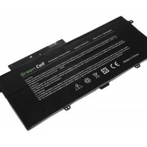 Green Cell AA-PLVN4AR akku: Samsung ATIV Book 9 Plus 940X3G NP940X3G / 7.6V 7300mAh