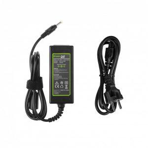 Green Cell laturi: Lenovo IdeaPad 100 100-15IBD 100-15IBY 100s-14IBR 110 110-15IBR Yoga 510 520 / 45W / 20V 2.25A / 4.0-1.7mm
