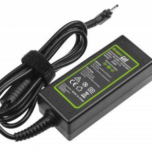 Green Cell laturi: Asus Eee PC 1001PX 1001PXD 1005HA 1201HA 1201N 1215B 1215N X101 / 40W / 19V 2.1A / 2.5-0.7mm
