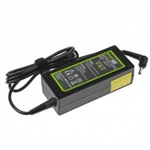 Green Cell laturi: Asus F553 R540L X553 ZenBook UX303L / 65W / 19V 3.42A / 4.0-1.35mm